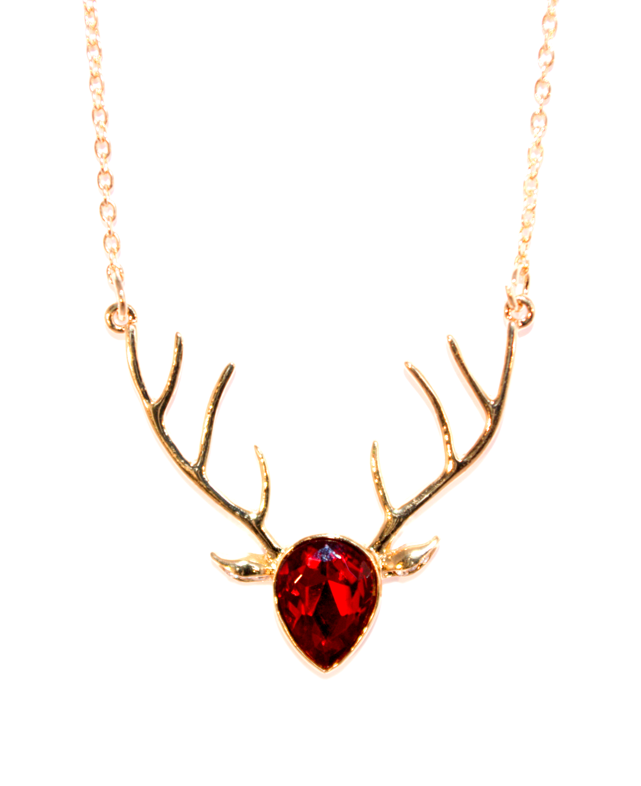 antler abigail deer naturally necklace grace pendant colors products cream co shed